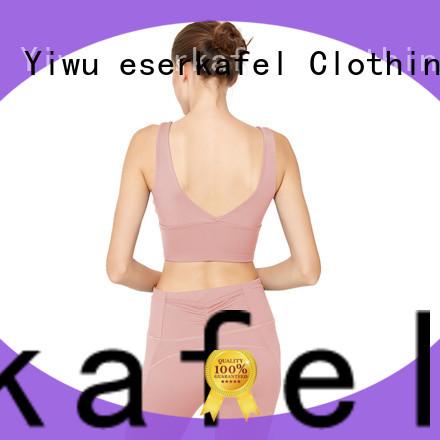 ESERKAFEL custom supportive sports bras supplier for women