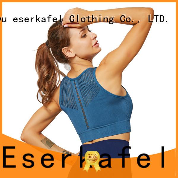 ESERKAFEL no bounce sports bra manufacturer for women