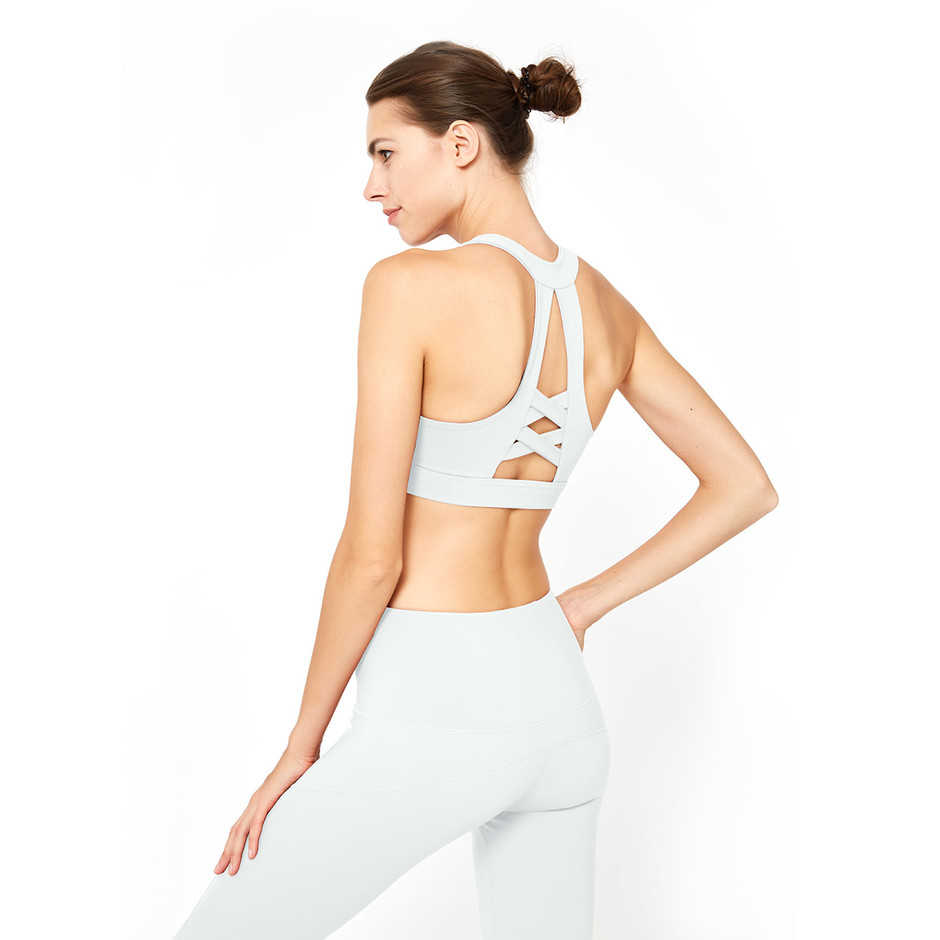 Simple Firm Support Sports Bra Training Bra From China