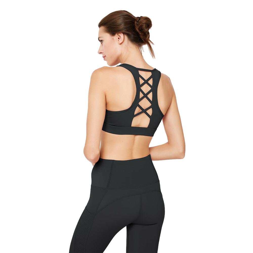 High Intensity Pretty Sports Bra Mesh Fitness Yoga For Women