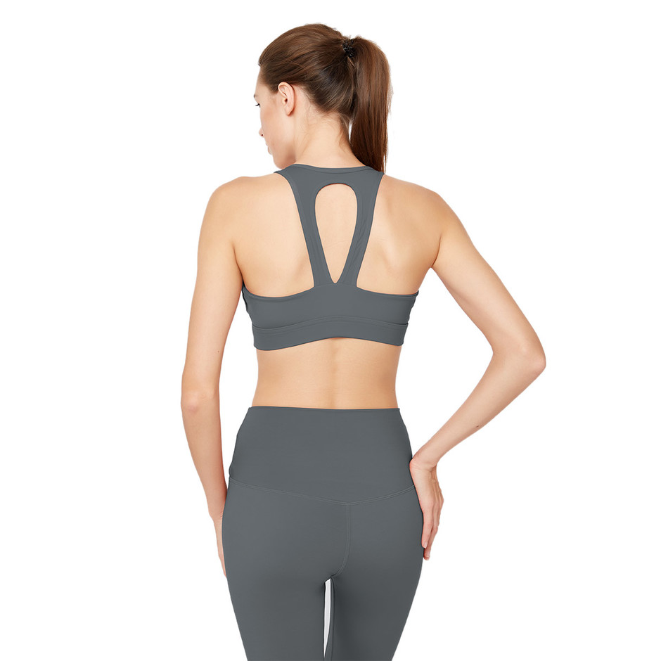 China Low Back Crop Sports Bras Factory