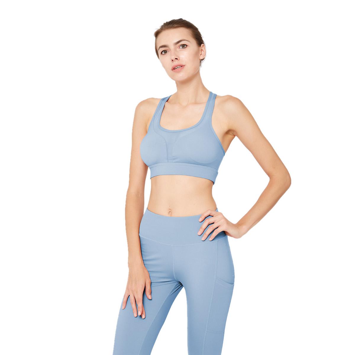 ESERKAFEL 100% quality cross back sports bra trader-1