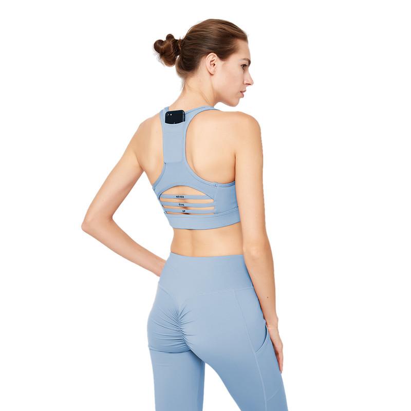 ESERKAFEL 100% quality cross back sports bra trader