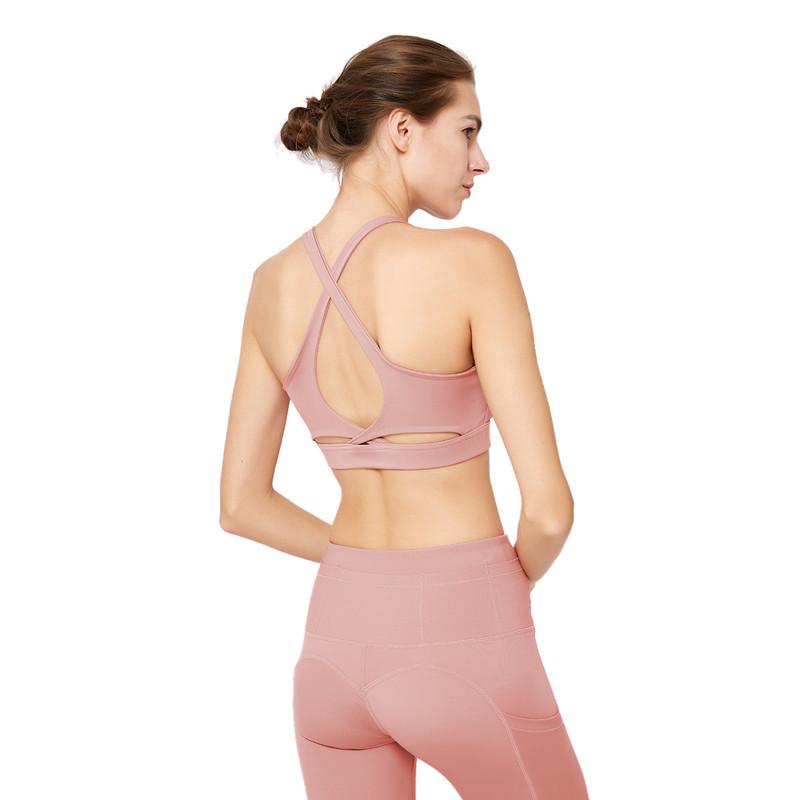 ESERKAFEL best-selling cross back sports bra manufacturer