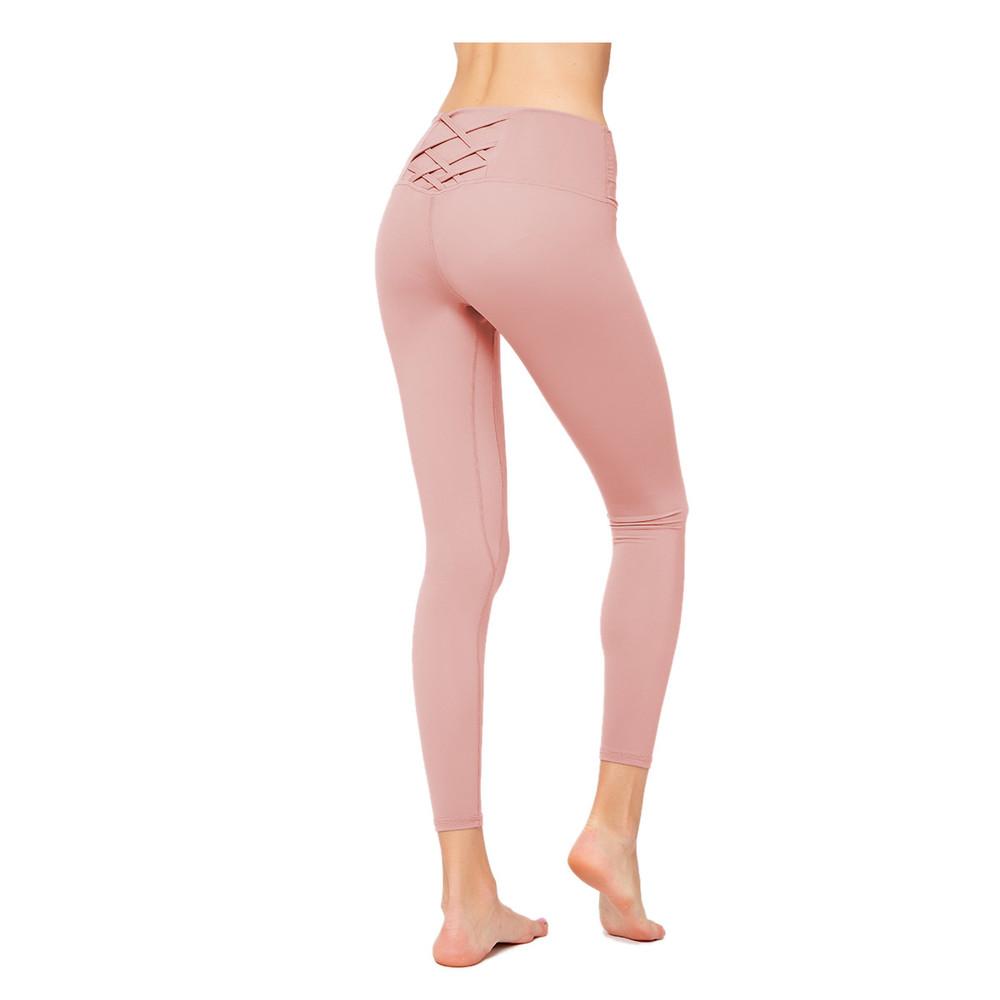 Solid Color Female Digital Print Leggings Sports Pants