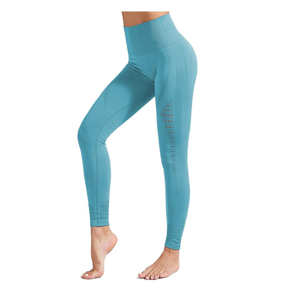 OEM Custom Leggings Fitness  Yoga Wear Yoga Pants High Waisted Seamless Leggings Women