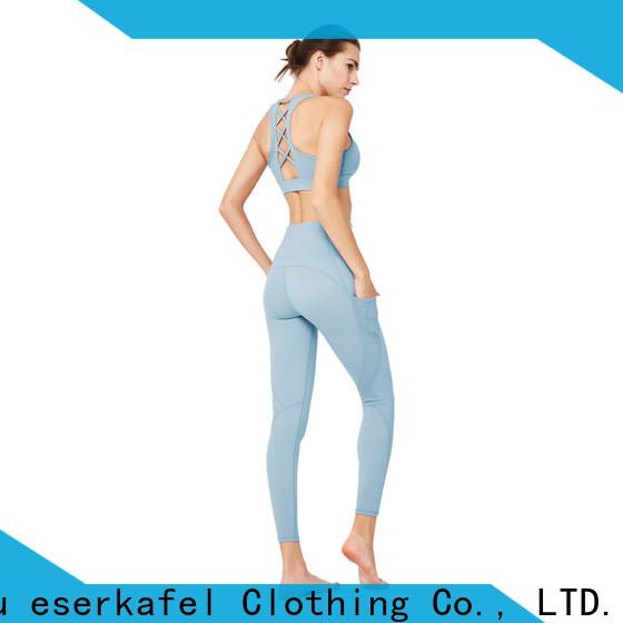 ESERKAFEL ladies gym wear manufacturer for sport