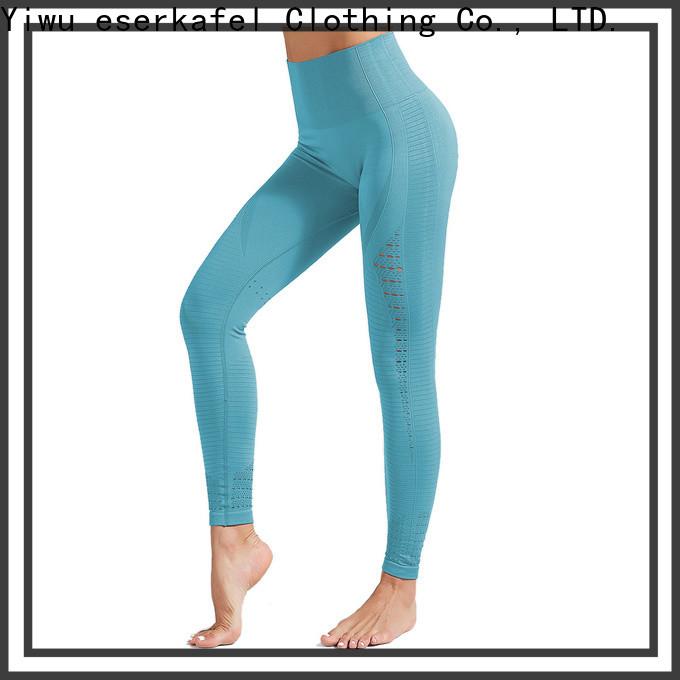 ESERKAFEL seamless high waisted leggings trader