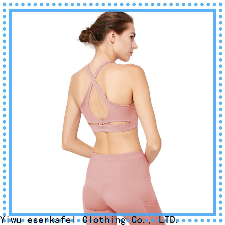 ESERKAFEL best-selling crop sports bras factory for women