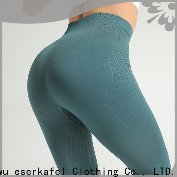 ESERKAFEL custom high waist seamless leggings trader for female
