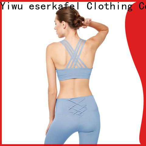 custom strappy sports bra manufacturer