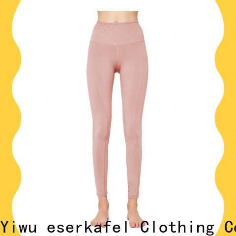 ESERKAFEL custom four needle six thread leggings manufacturer