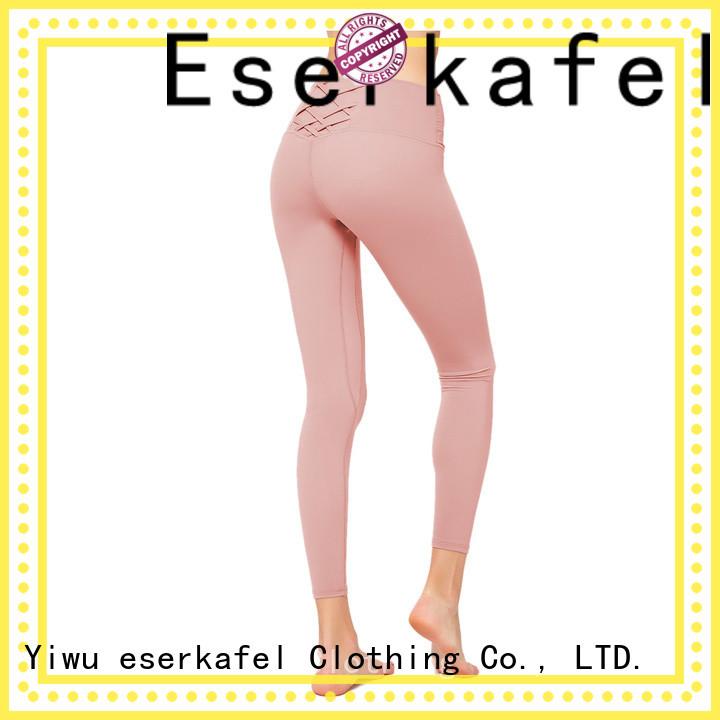 ESERKAFEL 100% quality color leggings manufacturer for women
