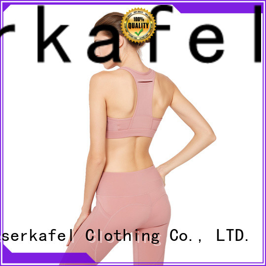 100% quality strappy back sports bra supplier
