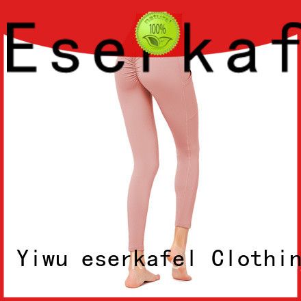 ESERKAFEL custom color leggings wholesale for women