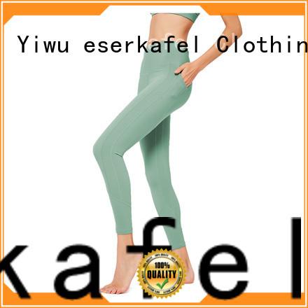 ESERKAFEL custom patchwork leggings factory for women