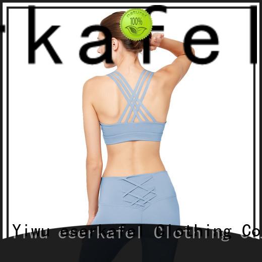 ESERKAFEL padded sports bra supplier for female
