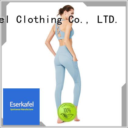 ESERKAFEL professional workout clothes manufacturer for women