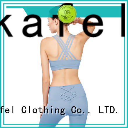 100% quality padded sports bra trader for women