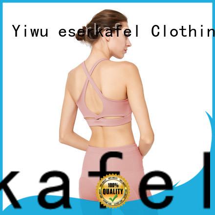 ESERKAFEL custom push up sports bra trader for women