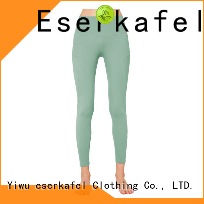 ESERKAFEL 100% quality sublimation print leggings manufacturer for women