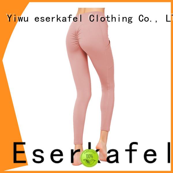 ESERKAFEL custom patchwork leggings supplier for women