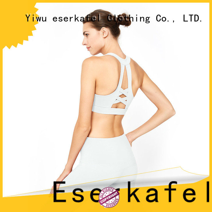 100% quality molded cup sports bra factory for women