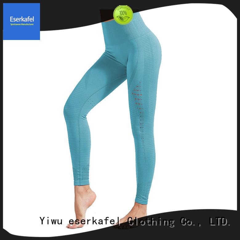 ESERKAFEL 100% quality black seamless leggings supplier for sport