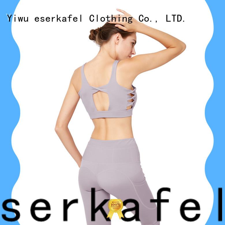 ESERKAFEL supportive sports bras wholesale for women