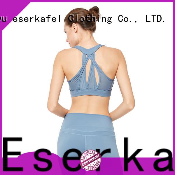 ESERKAFEL patchwork bra trader for sport