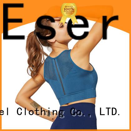 modern criss cross sports bra supplier for female