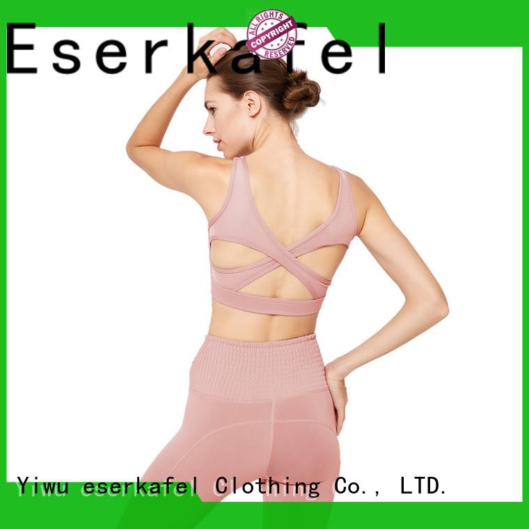 ESERKAFEL custom compression sports bra manufacturer