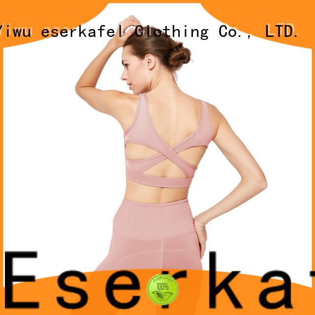 ESERKAFEL padded sports bra supplier for sport
