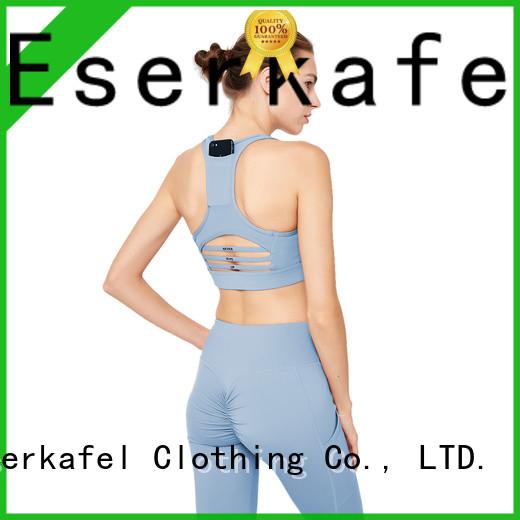 ESERKAFEL compression sports bra supplier for women
