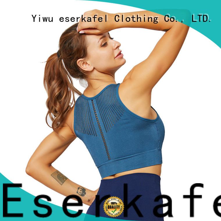 ESERKAFEL jockey sports bra manufacturer for female