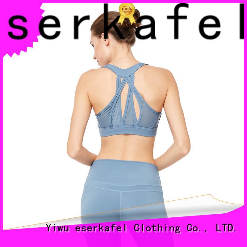 ESERKAFEL best-selling compression sports bra manufacturer for female