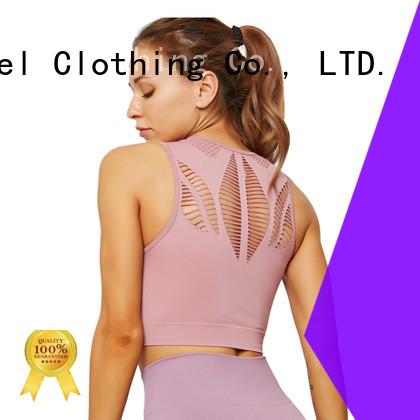 most popular high neck sports bra supplier