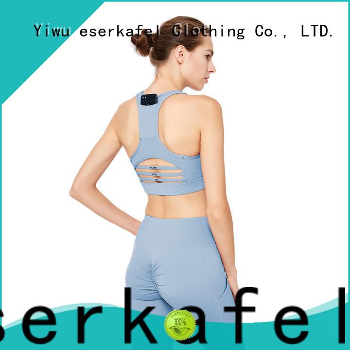 ESERKAFEL racerback sports bra wholesale for sport
