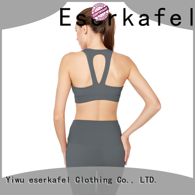100% quality molded cup sports bra manufacturer for women