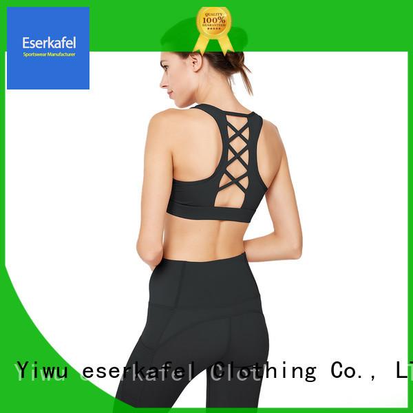 ESERKAFEL adjustable sports bra supplier for women