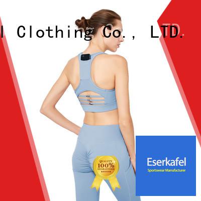 ESERKAFEL push up sports bra manufacturer for female