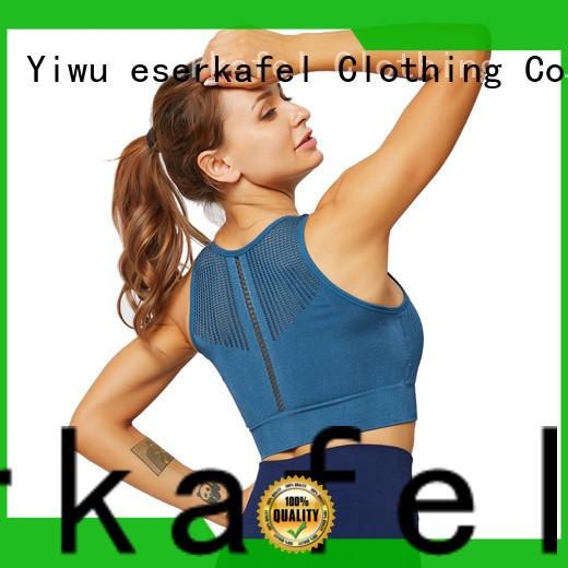 ESERKAFEL modern yoga seamless bra trader