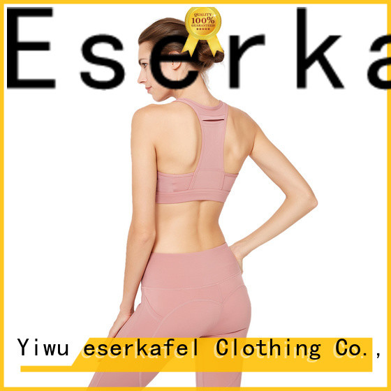 ESERKAFEL best-selling racerback bra factory