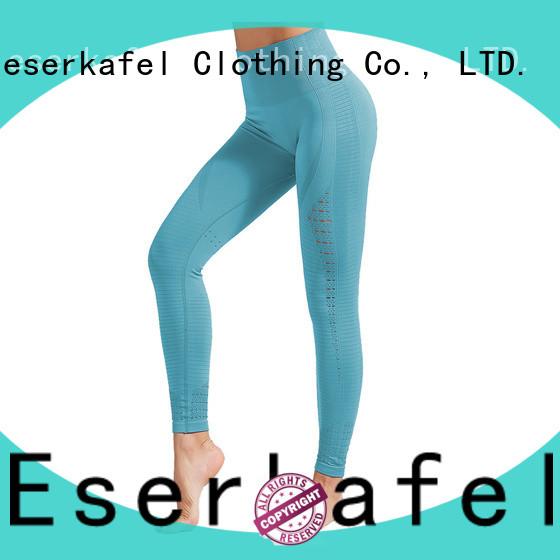 ESERKAFEL best-selling seamless gym leggings wholesale for women