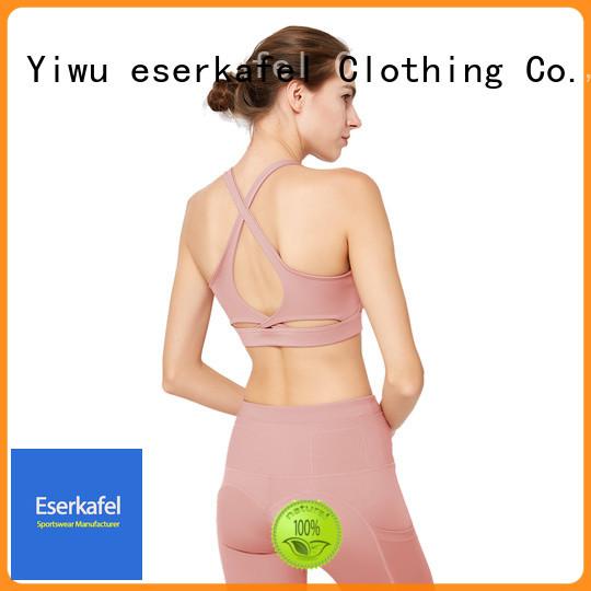 ESERKAFEL best-selling strappy sports bra trader