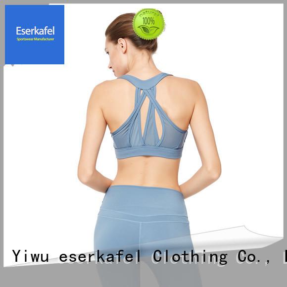 custom padded sports bra manufacturer for female