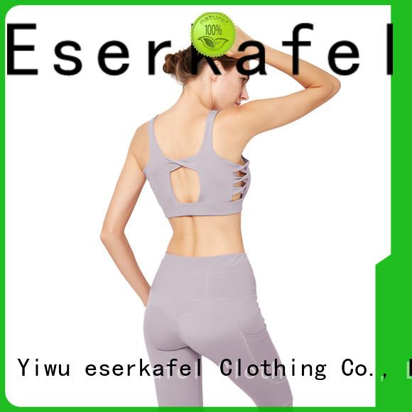 ESERKAFEL supportive sports bras manufacturer
