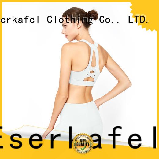 custom best supportive sports bra trader for female