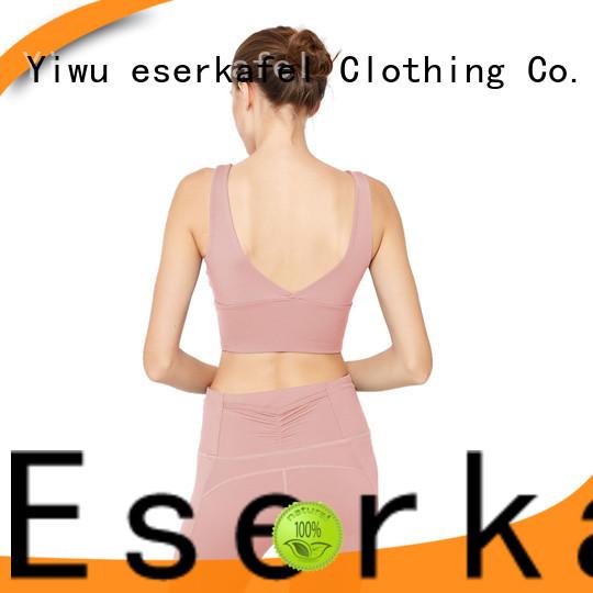 ESERKAFEL push up sports bra wholesale