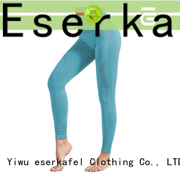 100% quality high waist seamless leggings factory for female